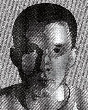 Typographic Portrait - by TylerSpader