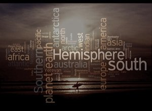 Typographic Sunset - by idj3