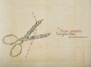 Typography - by whiteRo0ose