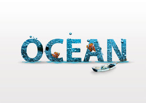 Typoserie Ocean - by Mittmac