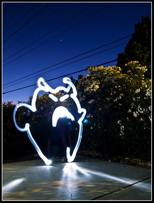 light painting 10