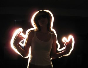 light painting 14