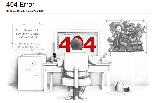 10 Most Creative 404 Pages