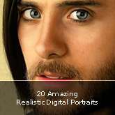 20 Amazing Realistic Digital Portraits