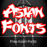 20 Free Asian Style Fonts