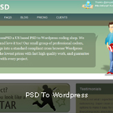 PSD To WordPress Coding Service: WPfromPSD.com