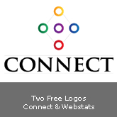 Two New Free Logos: Connect & WebStats [.ai]