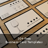 30+ Free Business Card Templates