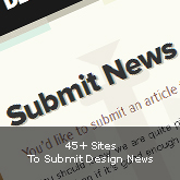 40+ Sites To Submit Design News