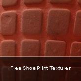 Free Shoe Print Textures
