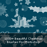 1000+ Beautiful Christmas Brushes For Photoshop