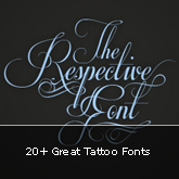 20+ Great Tattoo Fonts