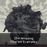 25+ Amazing Pixel Art Examples