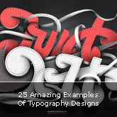 25 Amazing Examples Of Typography Designs