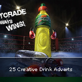 25 Creative Drink Adverts