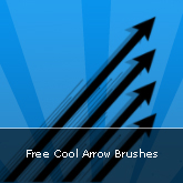Free Cool Arrow Brushes: Set #13