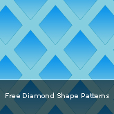 Free Diamond Shape Patterns: Set #05