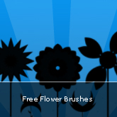 Free Flower Brushes: Set #14