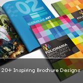 20+ Inspiring Brochure Designs