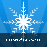 Free Snowflake Brushes: Set #15