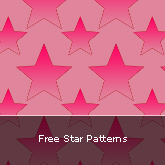 Free Star Patterns: Set #06