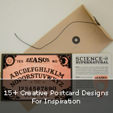 15+ Creative Postcard Designs For Inspiration
