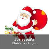 20+ Beautiful Christmas Logos