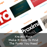 Kreativ Font: Makes It Easy To Find The Fonts You Need