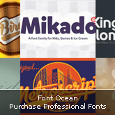Font Ocean: Purchase Professional Fonts