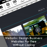 Webydo: Design Business Websites For Free Without Coding