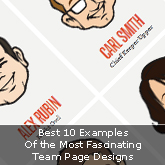 Best 10 Examples Of the Most Fascinating Team Page Designs