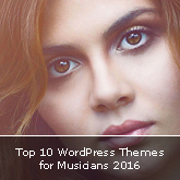 Top 10 WordPress Themes for Musicians 2016