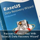 Recover Deleted Files With 'EaseUS Data Recovery Wizard Free'