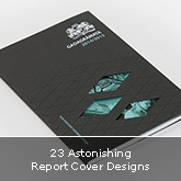 23 Astonishing Report Cover Designs