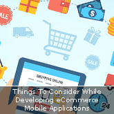 Things To Consider While Developing eCommerce Mobile Applications