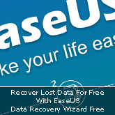 Recover Lost Data For Free With EaseUS Data Recovery Wizard Free