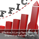 Effective & Long-Term Way For Improving Website Traffic