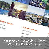 Must-haves Towards A Great Website Footer Design