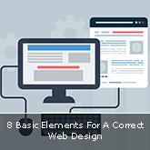 8 Basic Elements For A Correct Web Design
